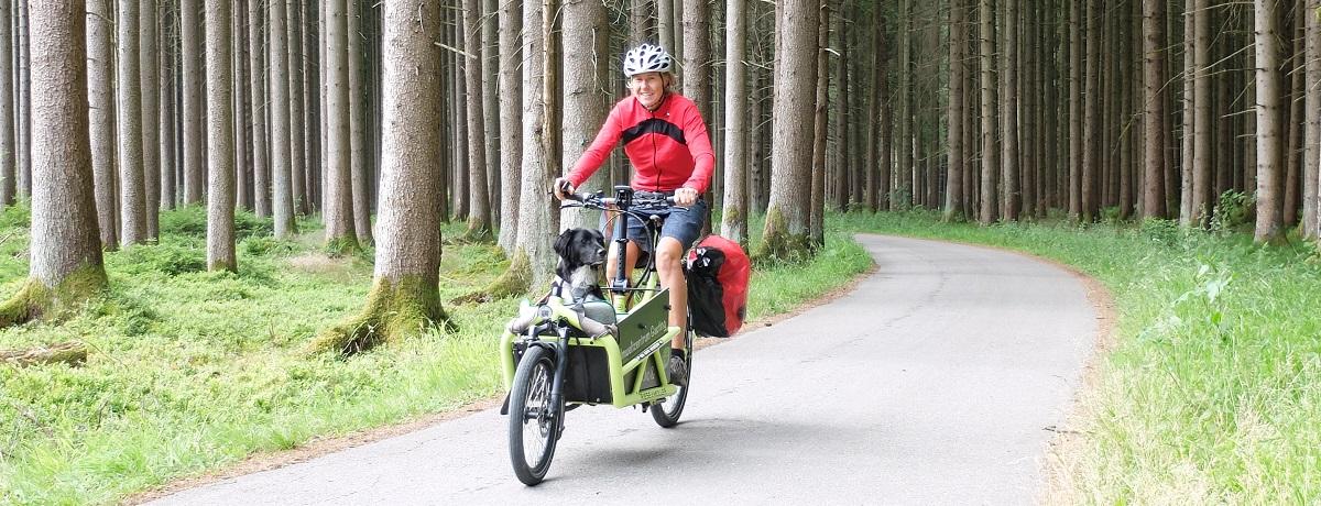 Cargobike ausprobiert
