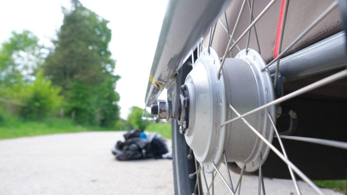 Test: electrail - Anschub von hinten